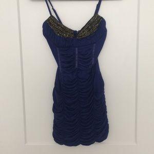 Arden B blue dress